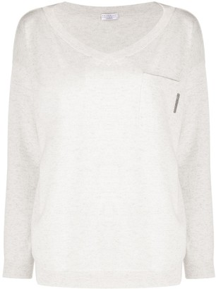Brunello Cucinelli Scoop-Neck Jumper
