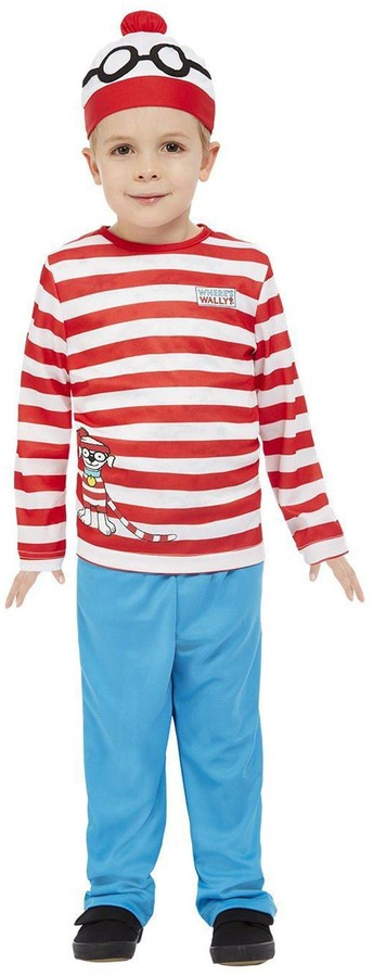 Where's Wally Wheres Wally Toddler Costume