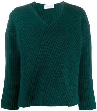 Christian Wijnants Asymmetric Knitted Jumper
