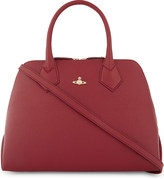 Vivienne Westwood Balmoral grained leather tote