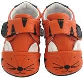 Jack & Lily My Mocs Animal Moccasin - Orange, Size 24-30m