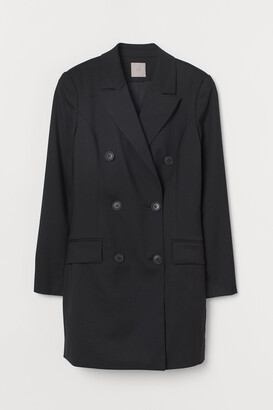H&M Double-breasted Jacket Dress