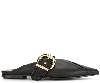 Reike Nen Buckle Pointed Mules