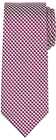 Chester By Chester Barrie Chevron Woven Silk Tie