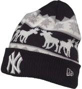 New Era MLB New York Yankees Knitted Beanie Hat Navy