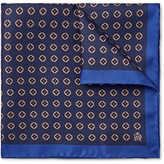 Dunhill Medallion-print Mulberry Silk-twill Pocket Square