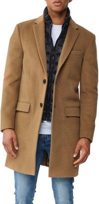 Mackage Men's Skai Wool Topcoat w/ Removable Down Bib