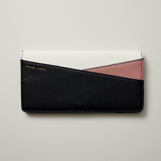 Love & Lore LOVE AND LORE COLOURBLOCK TRAVEL WALLET BLACK ROSE