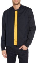 Fred Perry Men's Woven Pique Bomber Jacket