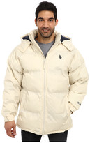 U.S. Polo Assn. Signature Long Bubble Coat w/ Small Pony & Polar Fleece Lining