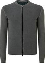 J. Lindeberg Elliot Zip Thru Jumper, Dark Green