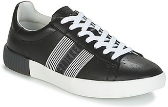 Bikkembergs COSMOS 2130 LEATHER men's Shoes (Trainers) in Black