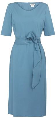 S Max Mara Liriche cotton poplin-blend midi dress
