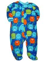 Little Me Monster Baby - Boys Blanket Sleeper