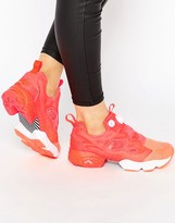 Reebok Neon Orange Instapump Fury Co-Op Sneaker