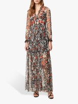 French Connection Floral Maxi Dress, Multi