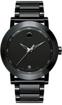 Movado 42mm Museum Sport Watch, Black
