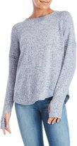 Sweet Romeo Long Sleeve Thumbhole Sweater
