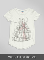 Junk Food Clothing Kids Girls Cinderella Tee-sugar-m