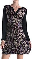 Aryeh Patterned Sweater Dress