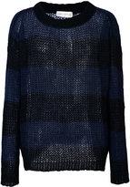 Faith Connexion Punk striped sweater - men - Mohair - S