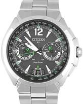 Citizen Eco Drive H950-S094704 Stainless Steel Gray Dial Quartz 46mm Mens Watch