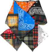 Pierre Louis Mascia Pierre-Louis Mascia patterned padded scarf