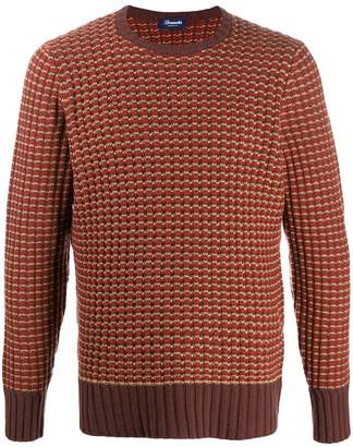 Drumohr patterned knit jumper