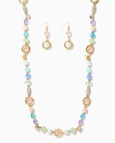 Charming charlie Sparkle Party Beaded Necklace Set