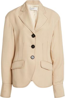 Wales Bonner Drop Shoulder Tailored Crepe Jacket