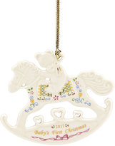 Lenox Annual 2017 Baby's First Christmas Ornament, Created for Macy's