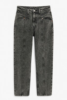 Thumbnail for your product : Monki Front seam jeans