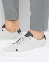 Ted Baker Kiing Embossed Suede Sneakers