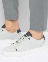 Ted Baker Kiing Embossed Suede Trainers