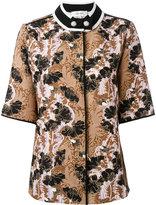 Carven jacquard short sleeve shirt