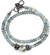 Armenta Women's Old World Semiprecious Stone Double Wrap Bracelet
