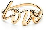 Tiffany & Co. Paloma's Graffiti love ring