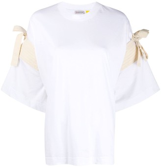 Moncler Genius 1952 tied straps oversized T-shirt