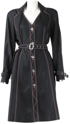 Christian Dior Black Wool Coat for Women Vintage