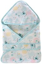 Kylin Express Lovely Baby Receiving Blankets Summer Hooded Swaddleme Elephant Pattern