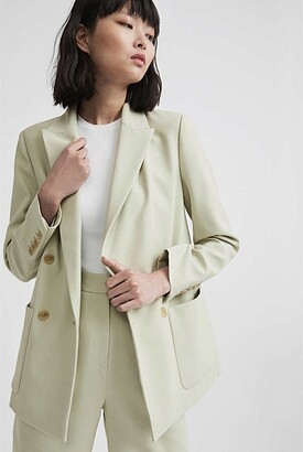 Witchery Relaxed Double-Breasted Blazer