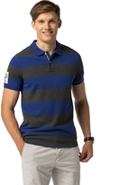 Tommy Hilfiger Slim Fit Bold Stripe Polo