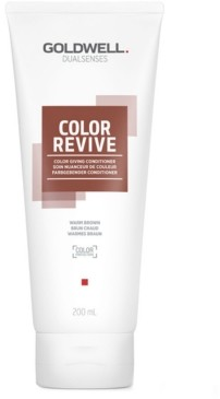 Goldwell Dualsenses Color Revive Conditioner - Warm Brown, 6.7-oz, from Purebeauty Salon & Spa