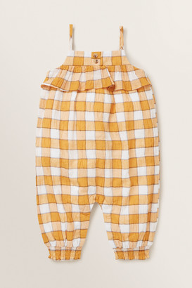 Seed Heritage Check Romper