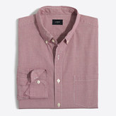 J.Crew Factory Washed shirt in microgingham