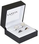 Lanvin Mother Of Pearl Cufflinks