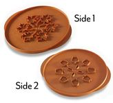 Nordicware Leaves & Apples Reversible Pie Cutter