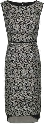 Marc Jacobs Organza-trimmed Brocade Dress