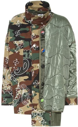 Monse Printed cotton-blend jacket