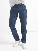 Gap TENCEL denim slim fit chinos